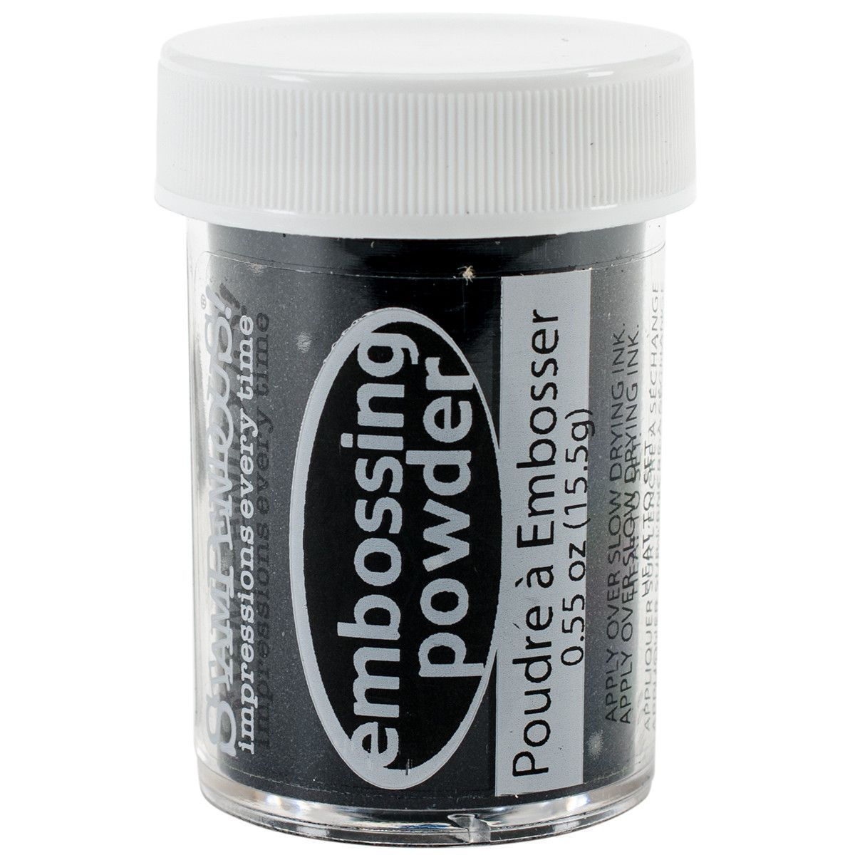 Stamp-N Stuff Detail Embossing Powder - Black Opaque