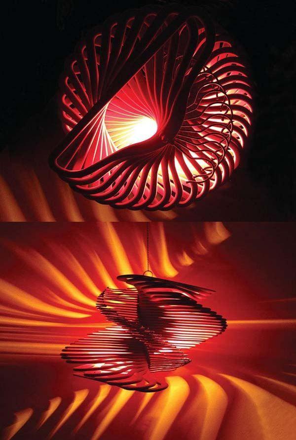 14 kreative ideen f r selbstgemachte lampenschirme g rten pinterest. Black Bedroom Furniture Sets. Home Design Ideas