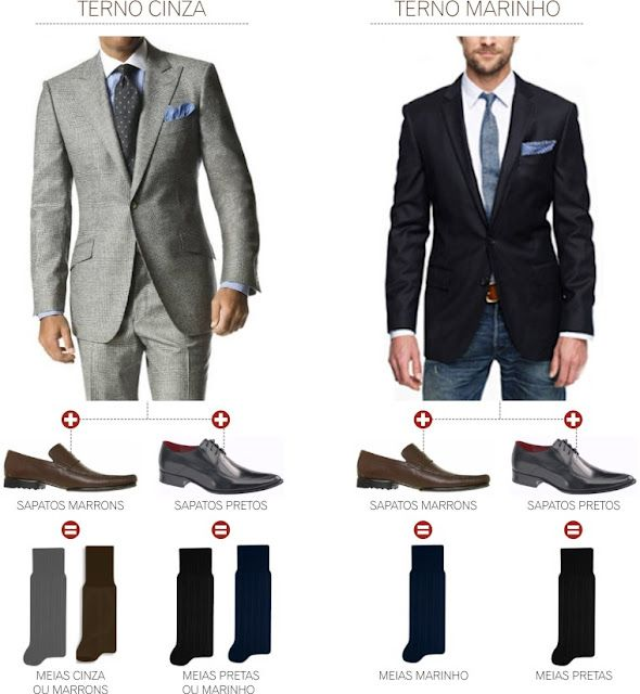 suit socks and shoes combination mens fashion
