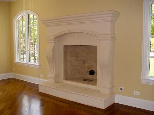 Cambridge Cast Stone Fireplace Mantel | Precast | For the Home ...