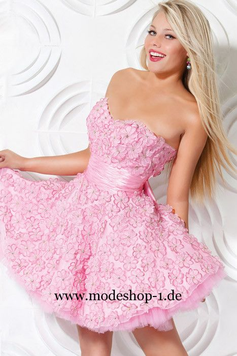 Junge Mode Rosa Cocktailkleid New Georgia Kurzes Abendkleid www ...