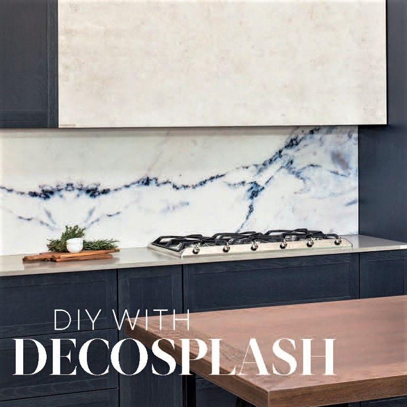 DIY Kitchen Splashback Ideas in 2020   Splashback, Glass ...