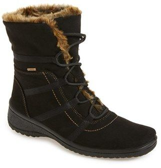s magaly waterproof tex faux fur boot faux fur