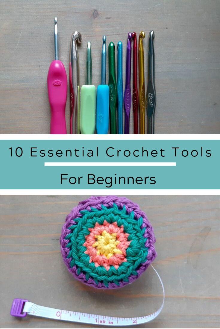 10 Essential Crochet Tools For Beginners Crochet Tools Diy Crochet For Beginners Beginner Crochet Tutorial