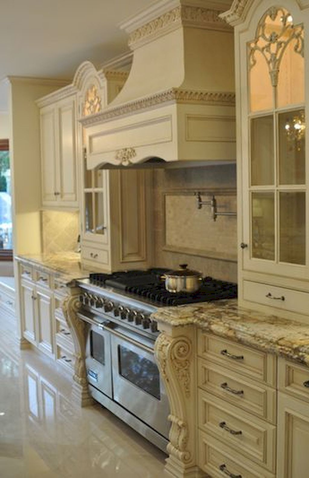 French Country Style Kitchen Decorating Ideas 75
