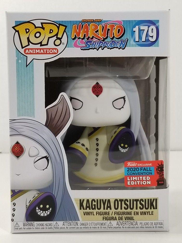 Kaguya Otsutsuki Naruto Shippuden Funko Pop #179 2020 NYCC Convention Exclusive