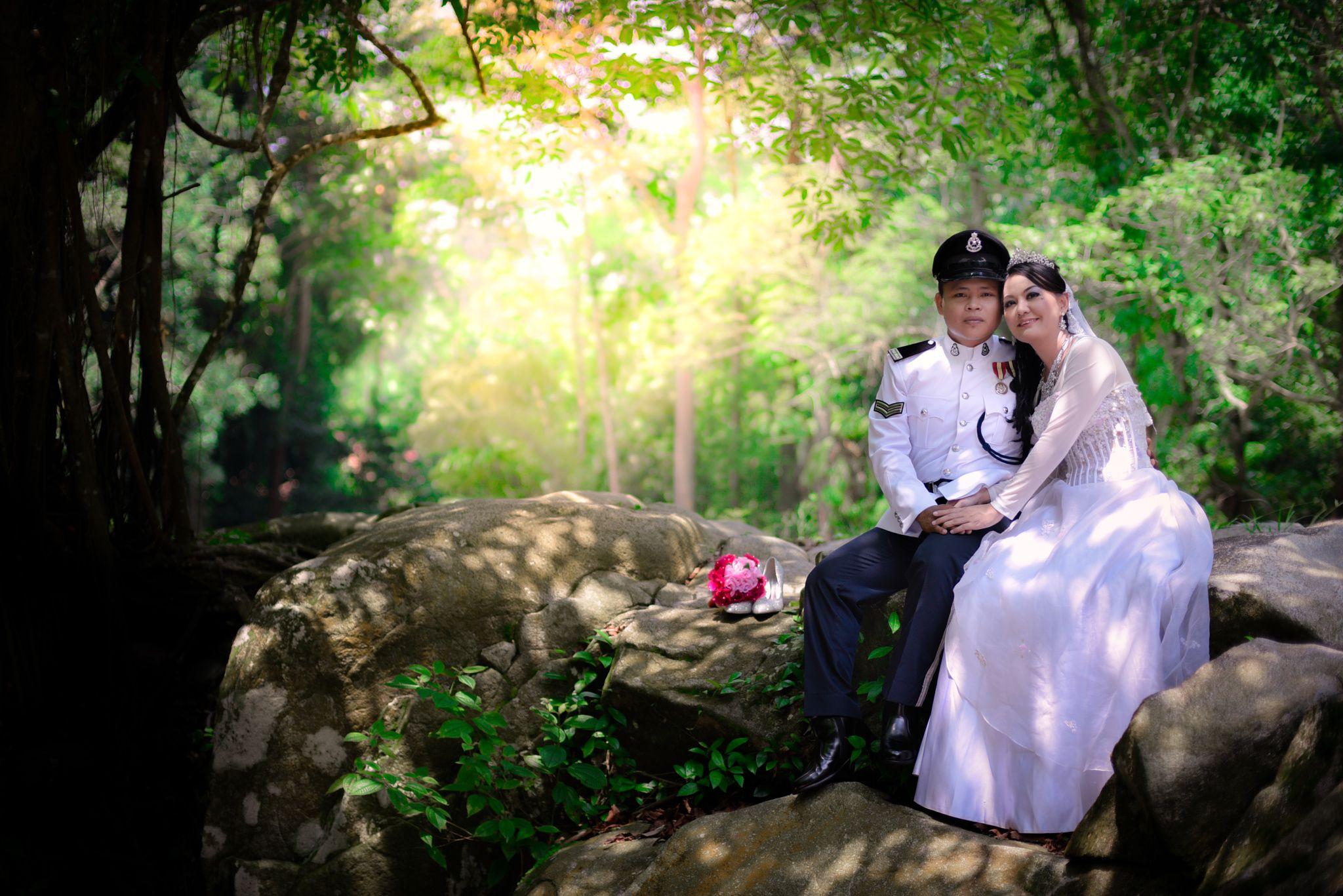 Photograph Malay wedding photo session in Lata