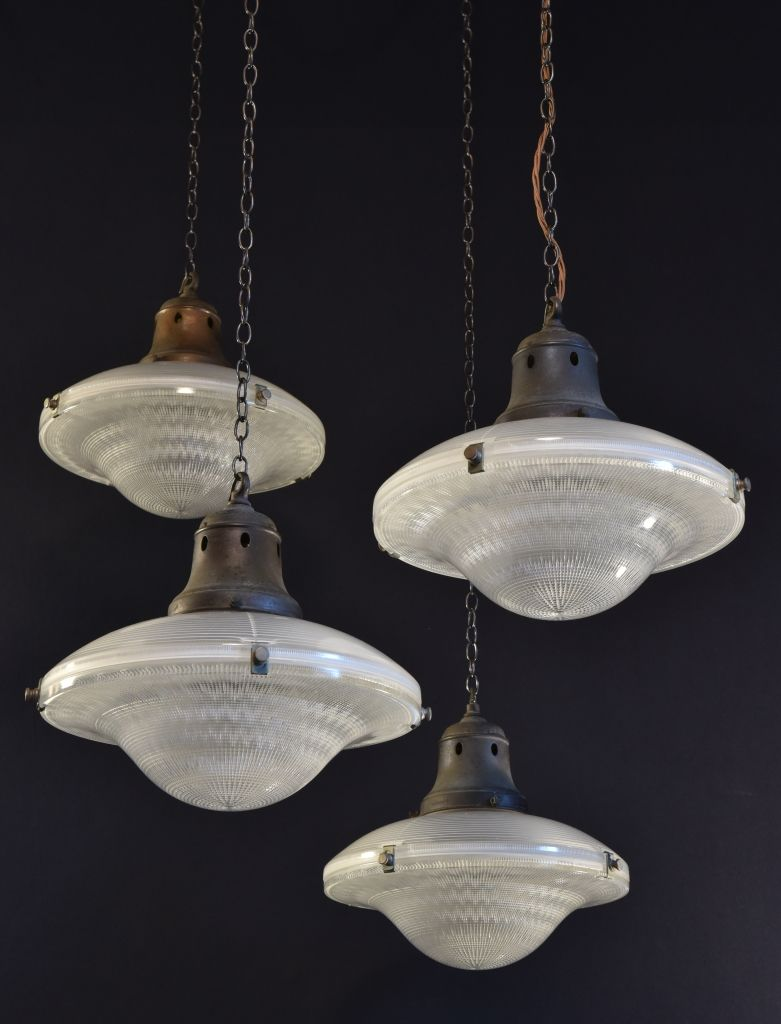 Holophane flying saucers antique pendant lamps old lighting holophane flying saucers antique pendant lamps arubaitofo Gallery