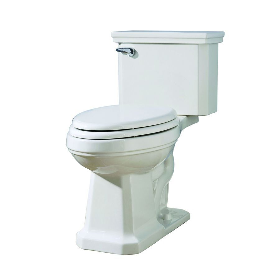 Shop aquasource white gpf watersense elongated 2 for Bathroom decor lowes