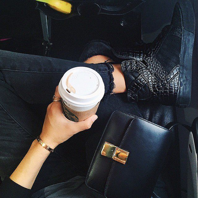 All-Black Everything and a Splash of Espresso