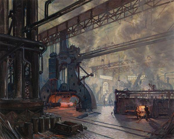 Fabrikshalle, Schmelzwerk by Alexander Scherban