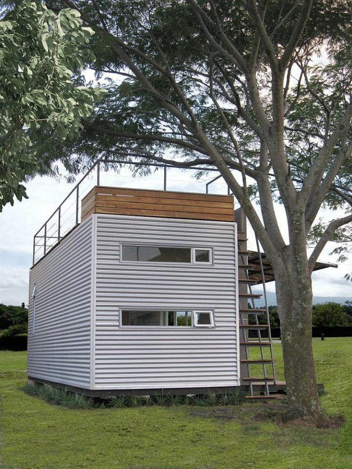 container home designers%0A The Casa C  bica vacation home  built from a shipping container  sleeps up  to four     We design  manufacture and implement interior acoustic  solutions