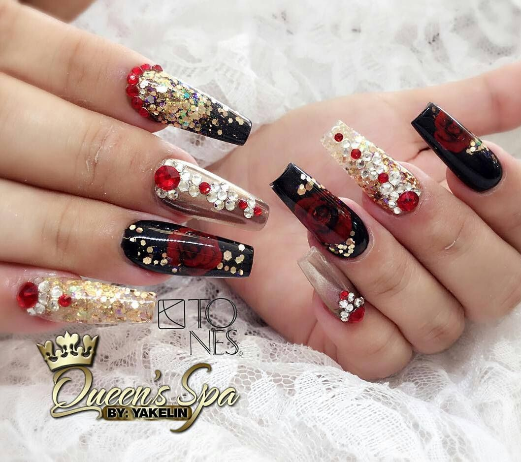 Piggieluv Freehand Stairway To Heaven Nail Art: Amazing Nail Art Made Using Tones Products