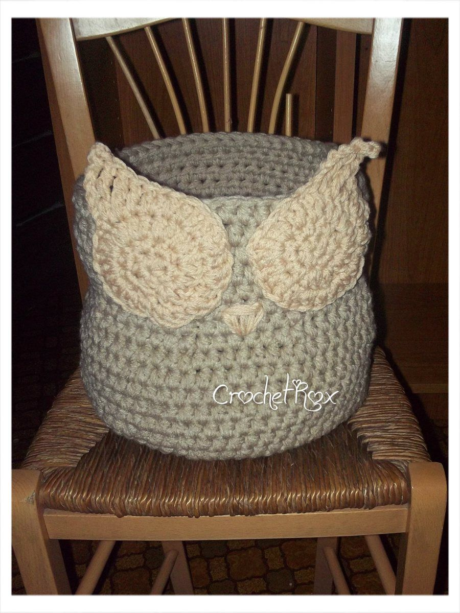 Owl Basket | Eule, Körbchen und Handarbeiten