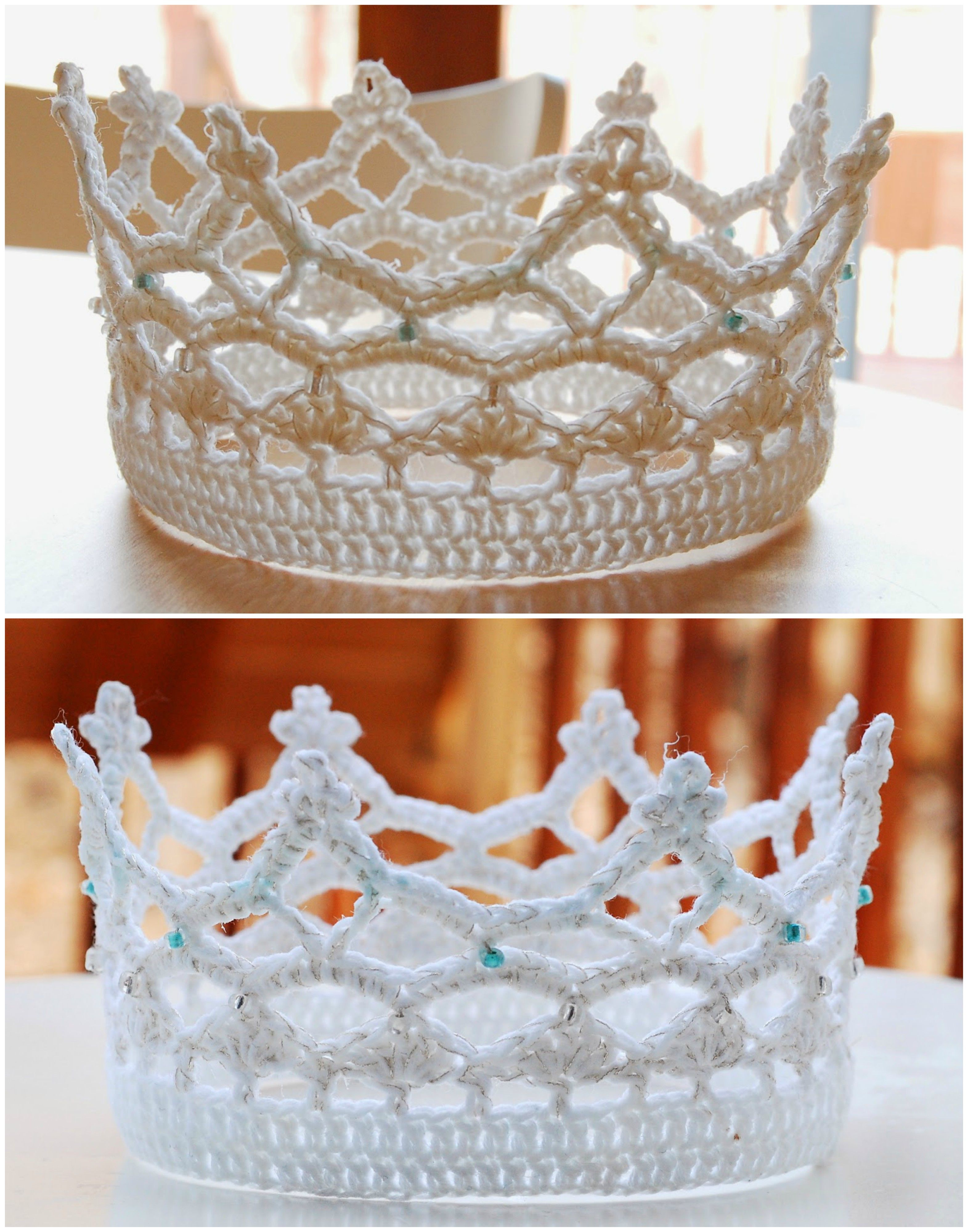 Royal Crown for Elegant Ball [Free Crochet Pattern]