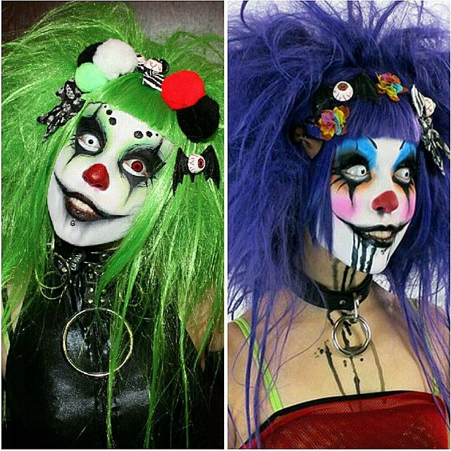 Adorable sinister clowns · Creepy CostumesHalloween Costume MakeupDiy ...  sc 1 st  Pinterest : clown diy costume  - Germanpascual.Com