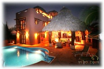 Favorite family vacation place...Troncones Mexico: Casa de Oro is a welcoming oasis at the end of Playa Troncones. In its prime secluded location next to a protected wildlife sanctuary & lagoon, you truly will feel like you are escaping the modern world and re-discovering yourself in the middle of paradise.