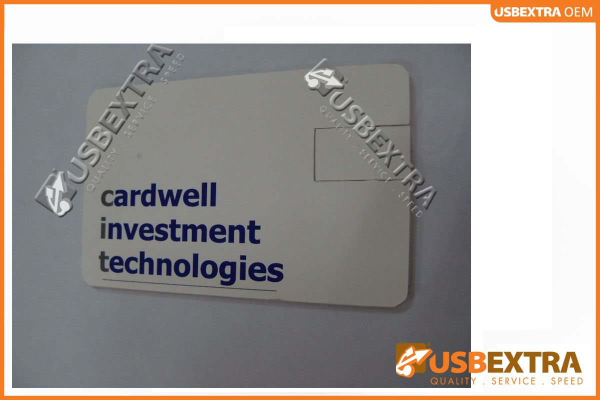 CIT using #branded #credit #card #USB #drives as their business ...
