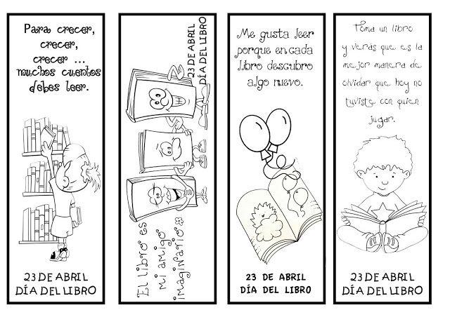 Material didáctico del Día del Libro para niños | bibliotecas ...