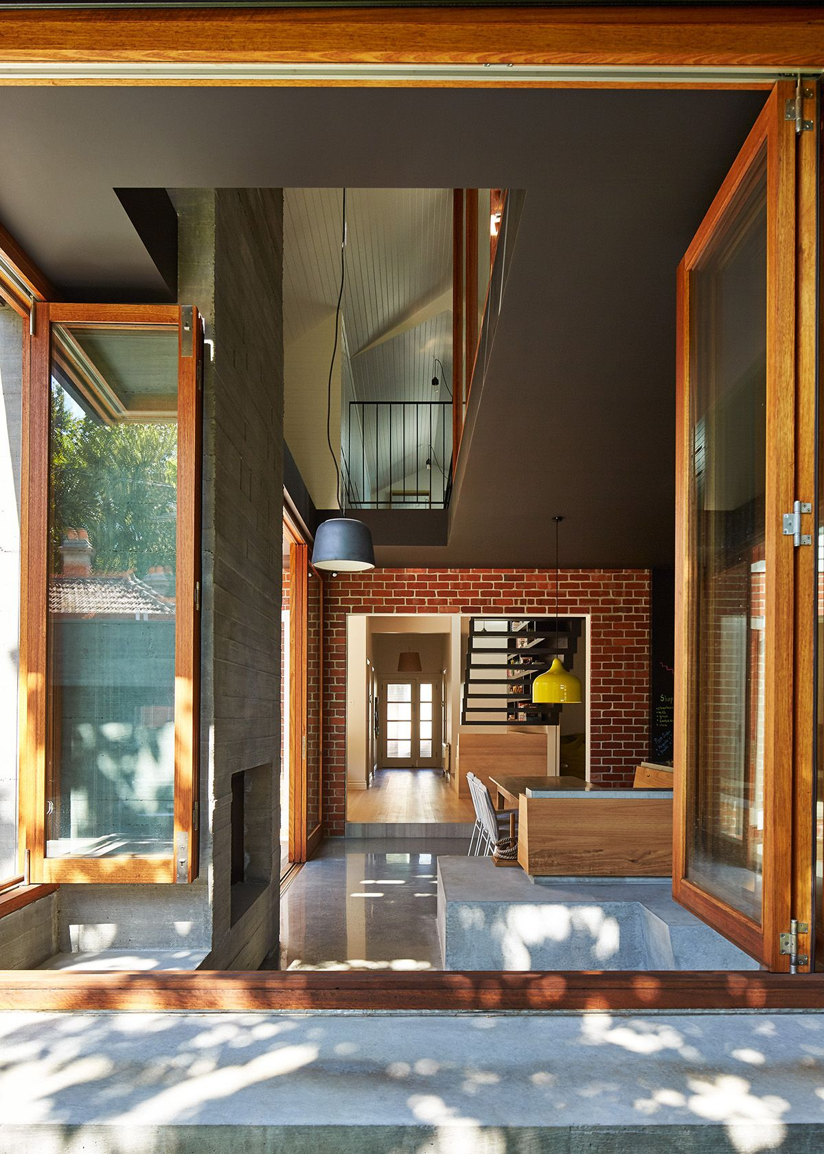 interior design of bungalow houses%0A A large part of the inspiration for the extension of this St Kilda  Californian Bungalow comes    Space ArchitectureArchitecture Interior DesignContemporary