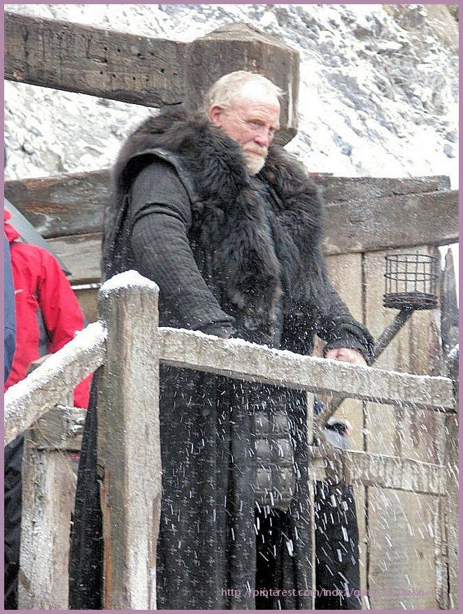 Game Of Thrones One A Song Of Ice And Fire Winter Is Coming James Cosmo