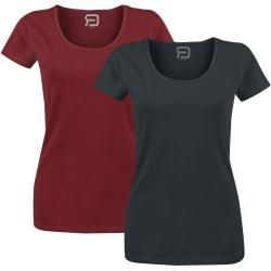 Photo of Vermelho por Emp Somente você sabe Camiseta Vermelho por Emp