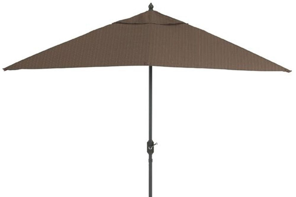 Kesey 9 Ft. Rectangular Patio Umbrella Brown