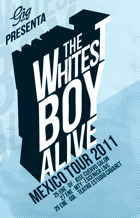 whitest boy alive 2011 gdl