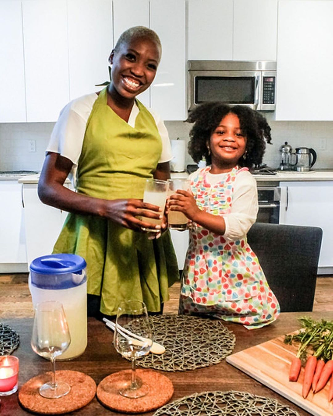 Our aprons make every generation smile! Thimble and Bodkin brings style and flair to those special moments with your loved ones.⠀ .⠀ ⠀ .⠀ ⠀ .⠀ ⠀ .⠀ ⠀ .⠀ ⠀ #Homemademodernhome #Apartmenttherapy #Theeverygirlcooks #Redbookmagazine #Bhghome #Myelectichome #bakingwithkids #mommyandme #kidsaprons #Handcrafted #wecook #webake #chicago #limitededition #dinnerparty #mysquad #homedecor #thimbleandbodkin #chicagofood #chicagomagazine #dinnerparty #everythingerica #retro #greatgift #coolgift #madeinchicago