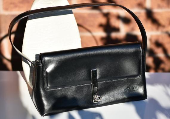 Loreinxy Paris Leather Purse French Designer Loreinxy Black  e5cdc8c6733cd