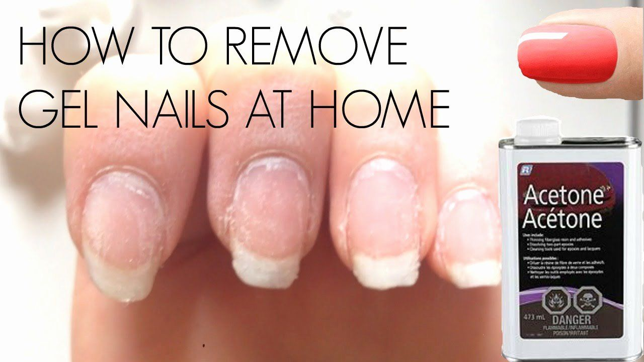 How to remove gel nail in 2020 gel nail removal gel