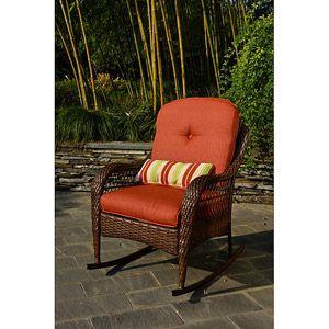 better homes and gardens azalea ridge outdoor rocking chair haute rh pinterest es