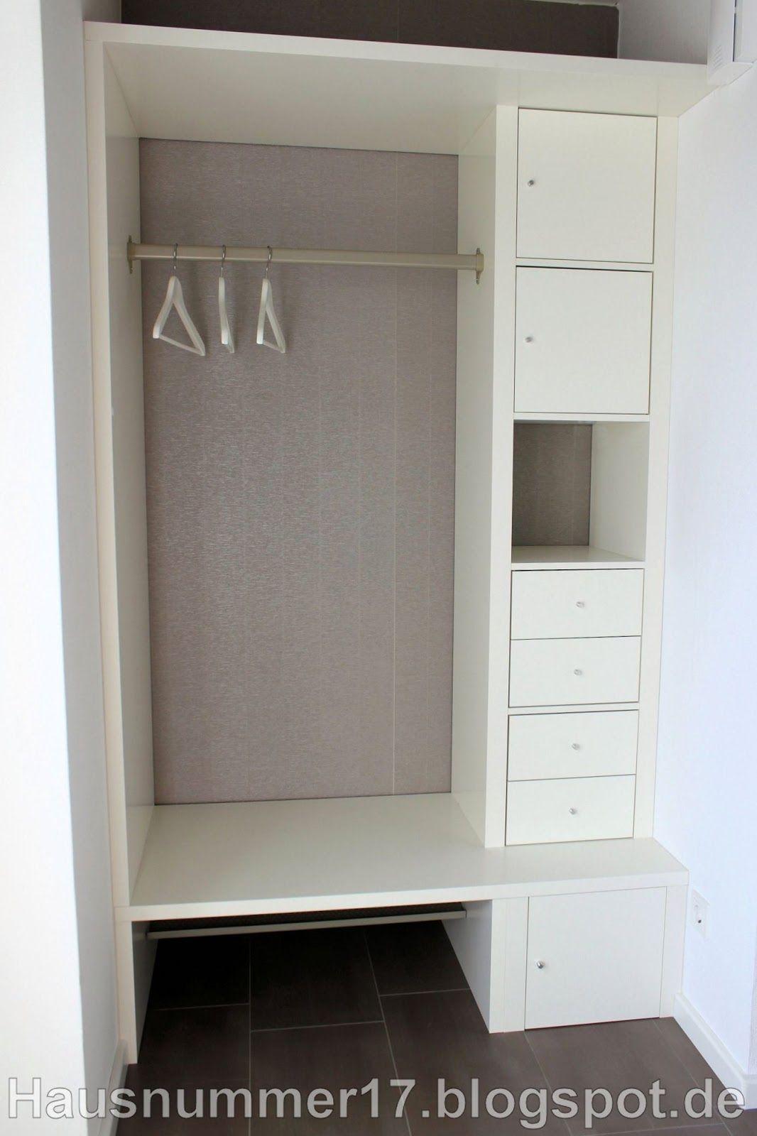 baublog hausnummer 17 ikea hack eine flur garderobe selber bauen vielleicht auch f r den. Black Bedroom Furniture Sets. Home Design Ideas