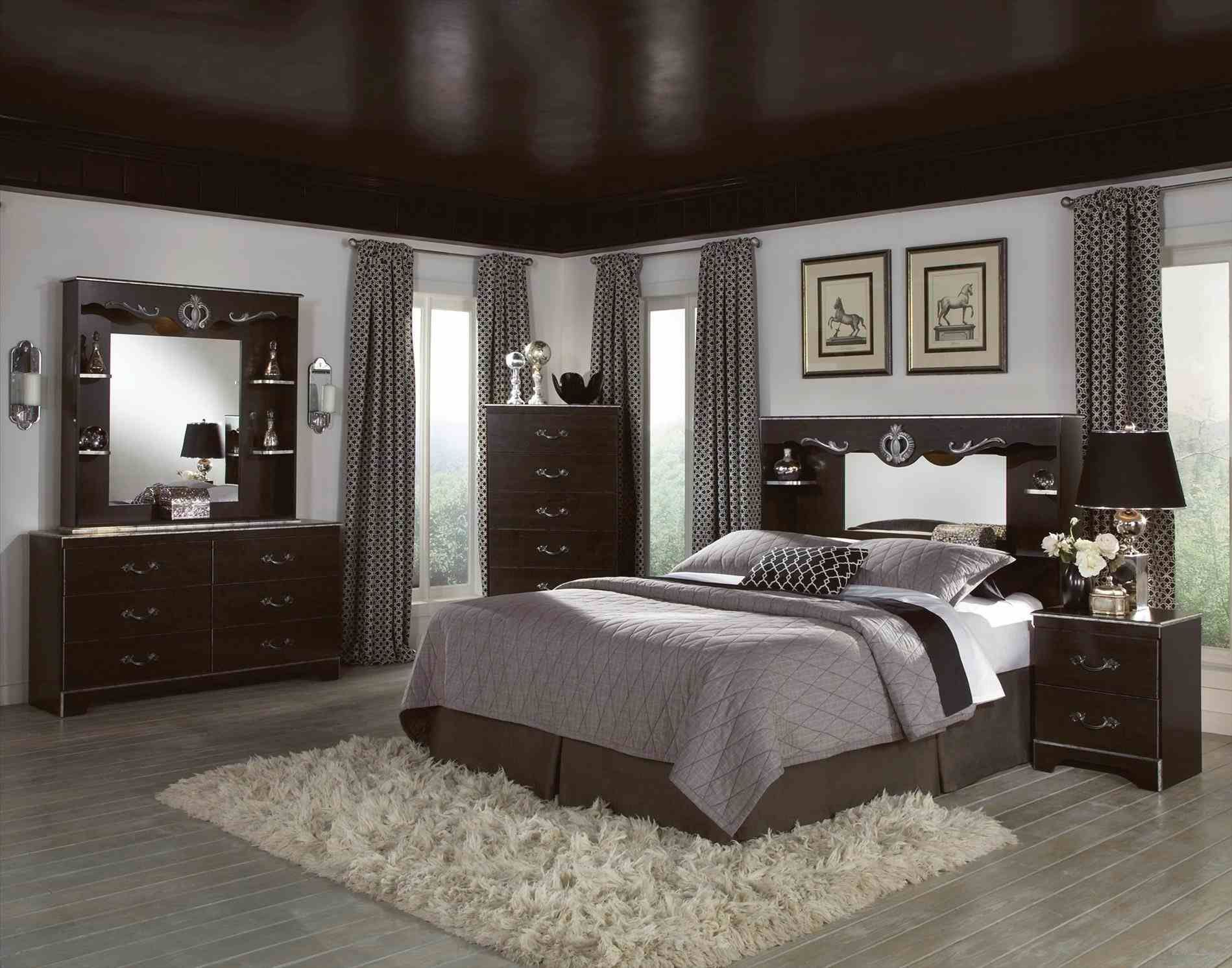 bedroom decorating ideas with black furniture bedroom decor rh pinterest com
