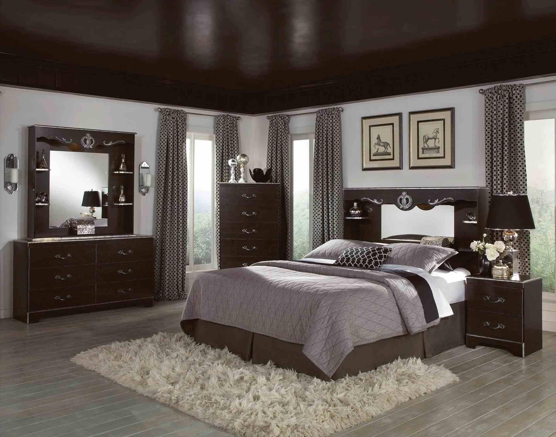 bedroom decorating ideas with black furniture bedroom decor rh pinterest com