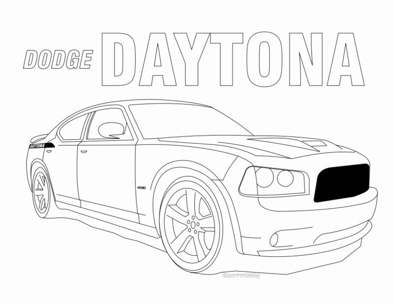 Dodge Charger Coloring Page Luxury Dodge Challenger Srt8 Coloring Download Dodge Challenger Srt8 Coloring Dodge Charger Dodge Daytona Coloring Pages