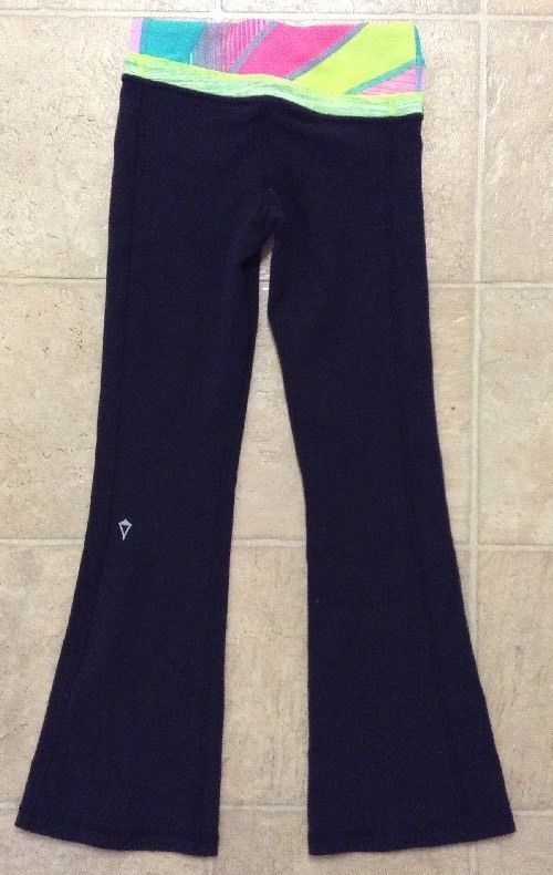 396c7a80dff7fe Ivivva Girls Endless Ambition Reversible Yoga Pants Sz 4 / C #Ivivva  #AthleticSweatPants #Everyday
