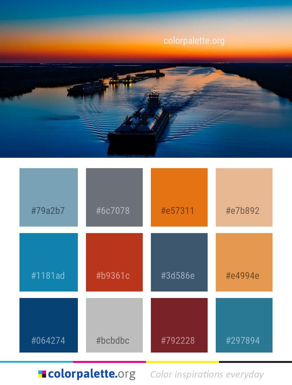 reflection water sea color palette color palettes pinterest rh pinterest com