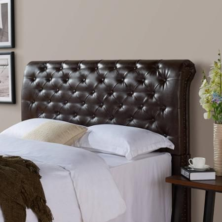 better homes and gardens rolled tufted upholstered headboard in rh pinterest com