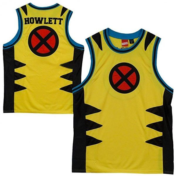 10 Most Awesome Superhero Basketball Jerseys - Walyou. X-men basketball  jersey be476888c