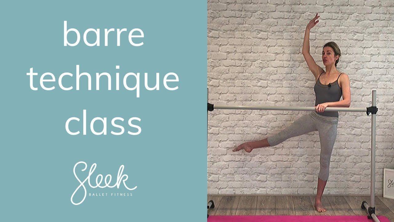 Barre Technique Catch Up Live Class | Sleek Ballet Fitness #balletfitness