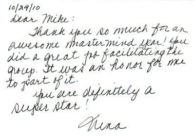 Handwritten business thank you notes | Lotion | Pinterest ...