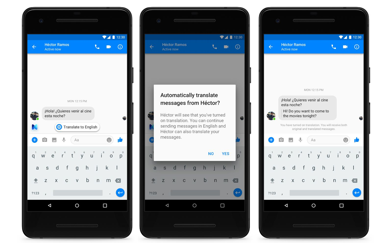 Facebook Messenger's 'M' Can Autotranslate Spanish