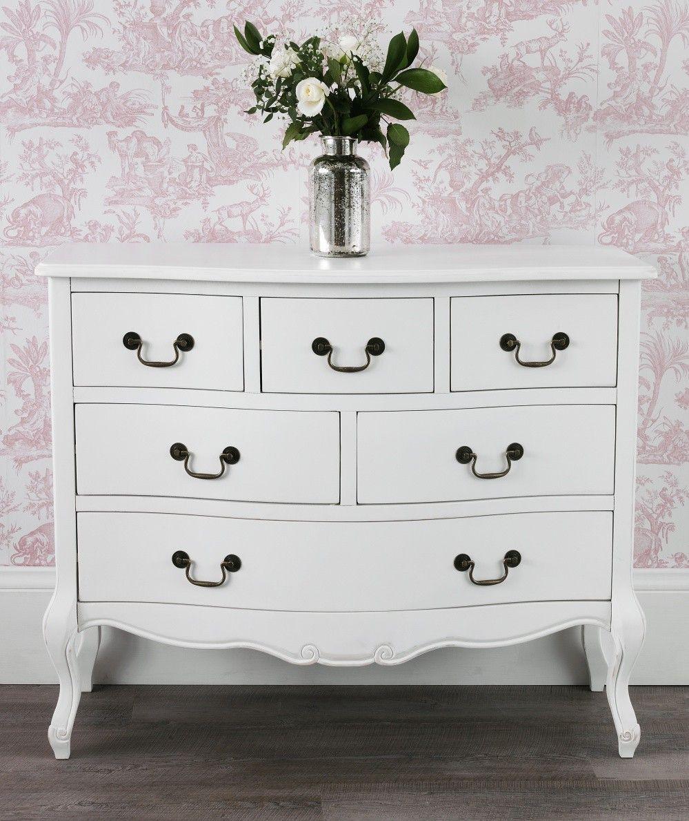 shabby chic white chest of drawers white dresser white bedroom rh pinterest com au
