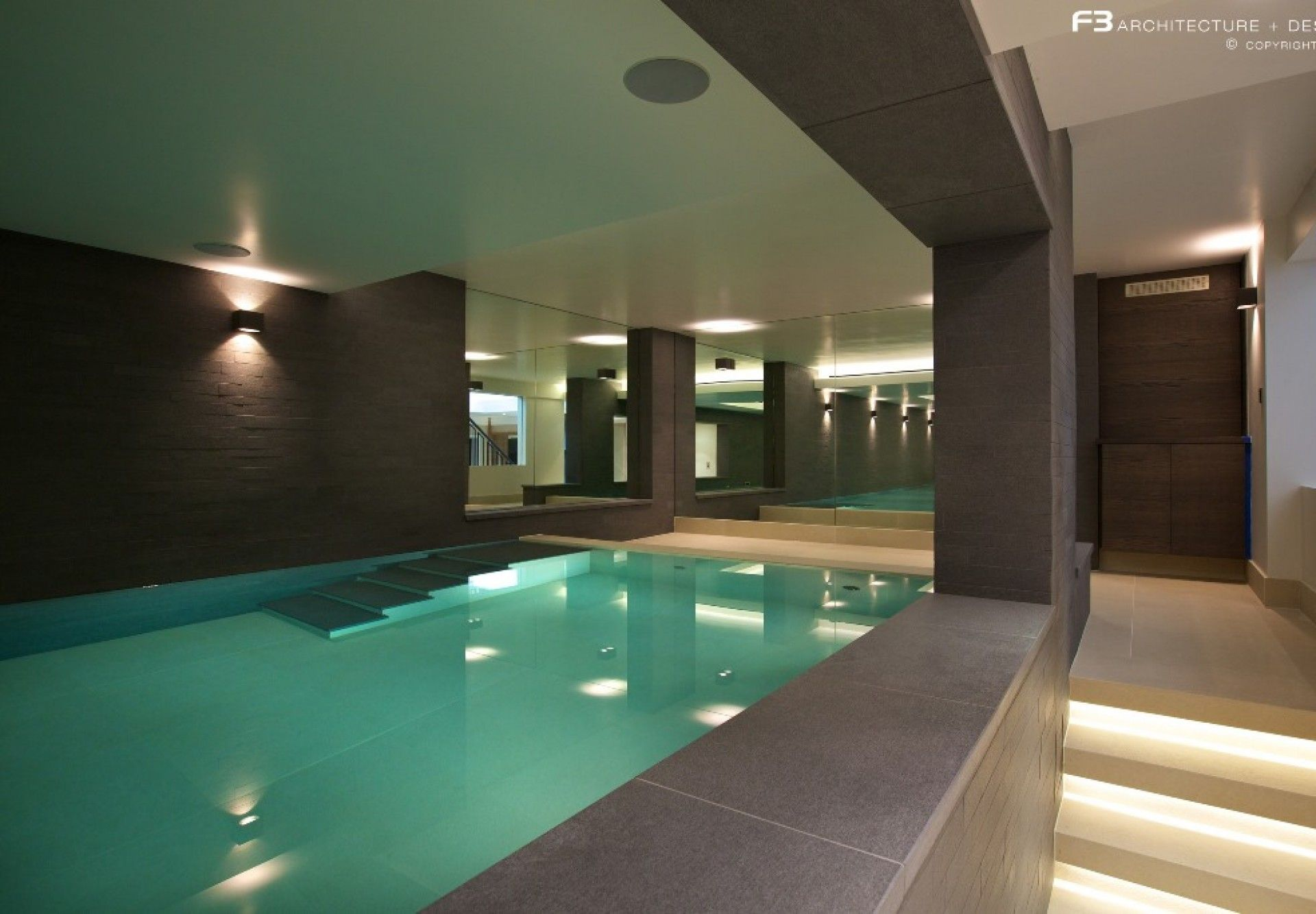 Indoor And Outdoor Swimming Pool Design Hertfordshire Guncast Swimming Pools Ltd Bassenger
