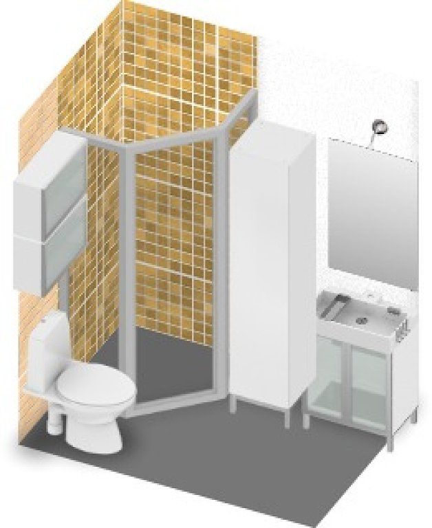 Ba os muy peque os buscar con google bathrooms for Banos muy pequenos ideas