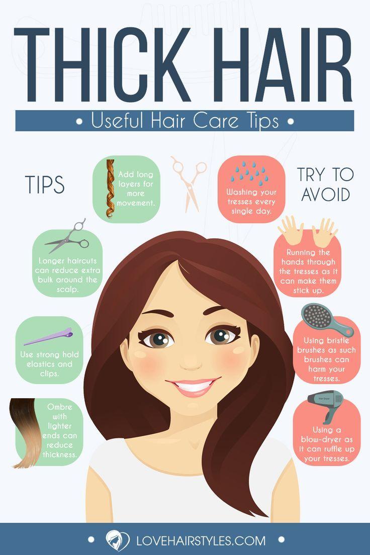 18 Medium Length Hairstyles For Thick Hair | Short