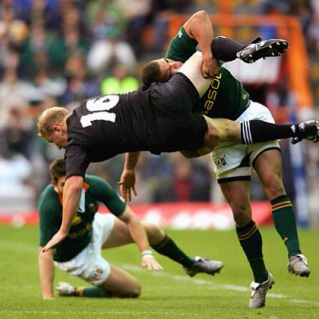 A Springbok Tackle Rugby Memes Rugby Quotes Springbok Rugby