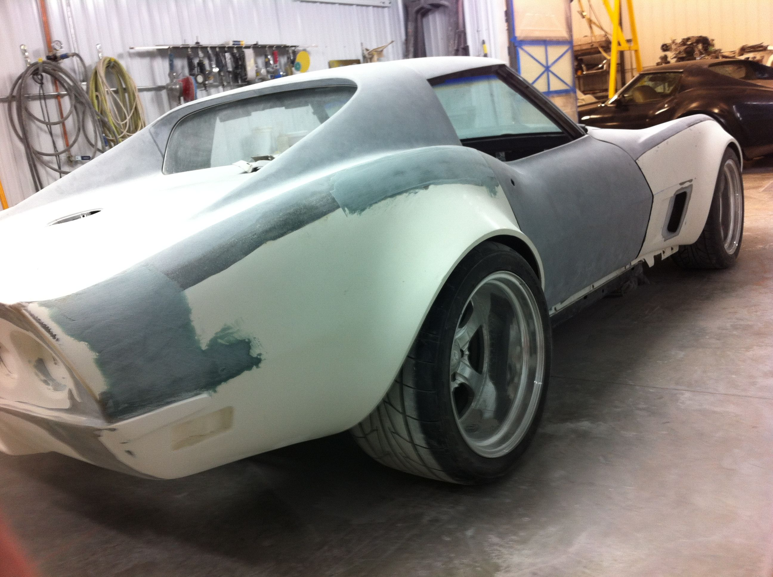 Building A 76 Corvette With Help From Custom Image Corvettes Ls1