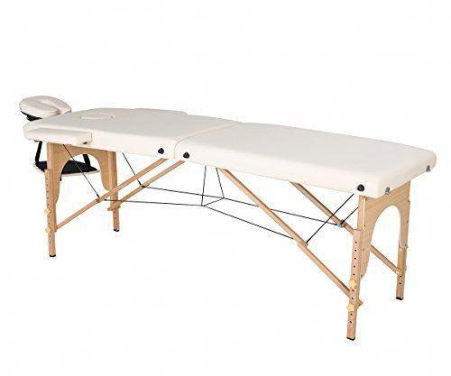 aosun professional portable massage table folding massage bed with rh pinterest com
